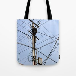 Chinese Electrical Panel Tote Bag