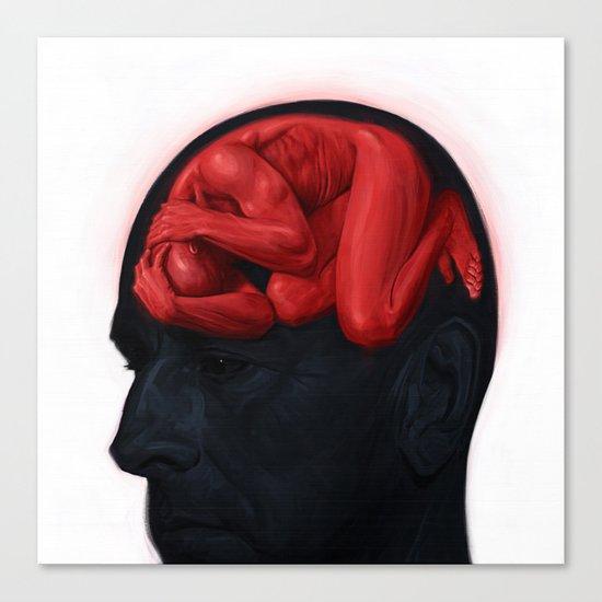 Brain Sick II Canvas Print