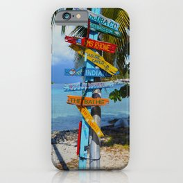 All Roads Lead to Happiness iPhone Case