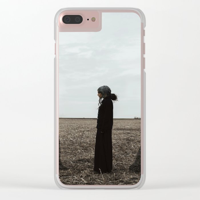 You can not escape from getting older.. Clear iPhone Case