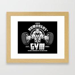 Lord Humungus' Gym Framed Art Print