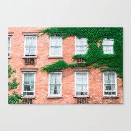 West Village Summer Canvas Print