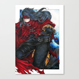 Final Fantasy VII - Vincent Valentine Canvas Print