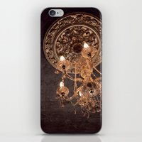 chandelier iPhone & iPod Skins featuring chandelier by shannonblue