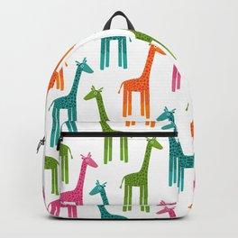 Giraffes-Multicolor Backpack
