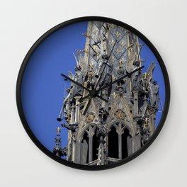 Musician angels of the Sainte-Chapelle, Paris Wall Clock
