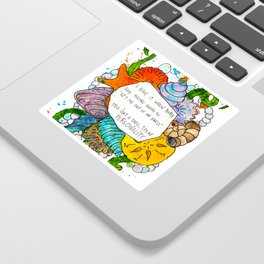 This isn't a shell, it's my personality. Sticker