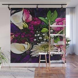 :: Bring Flowers :: Wall Mural