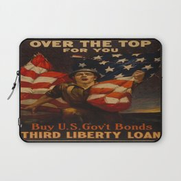 Vintage poster - Over the Top For You Laptop Sleeve