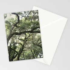 Georgia Live Oaks Stationery Cards