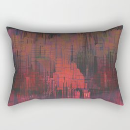 Urban Poetry in the Floating Town / 27-11-16 Rectangular Pillow