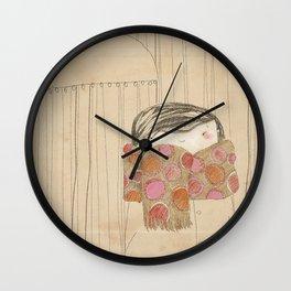"""Luisa. """"Bufandas"""" Collection Wall Clock"""
