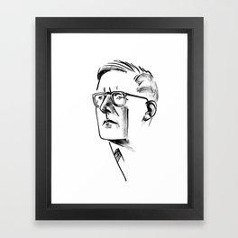 Shostakovich Framed Art Print