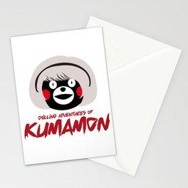 Chilling Adventures of Kumamon Stationery Cards
