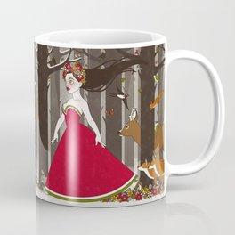 Flora im Walde Coffee Mug