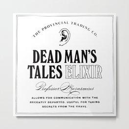 Dead Man's Tales Elixir Metal Print