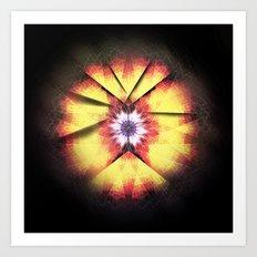 Cherub Under the Microscope: 3 Art Print