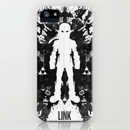 Ink Blot Link Kleptomania Geek Disorders Series iPhone Case