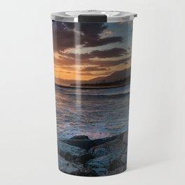 Summer sunrise Travel Mug