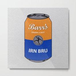 Barr's Irn Bru Metal Print