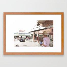 Painting Pike Framed Art Print