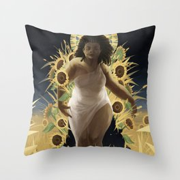 Summer is coming for you Throw Pillow