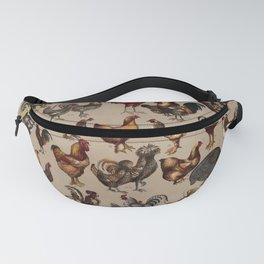 Poultry of the world Affiche Fanny Pack