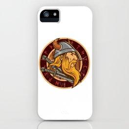 Viking Odin | Valhalla Warrior iPhone Case