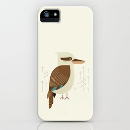 Laughing Kookaburra, Bird of Australia iPhone Case