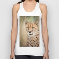 cheetah Tank Tops featuring Cheetah by Simon's Photography