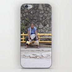 those who feel the breath of sadness... iPhone & iPod Skin