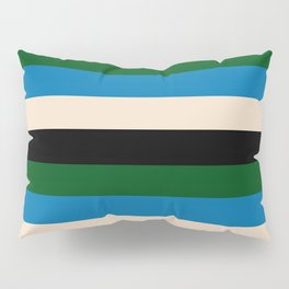 Color Stripe _003 Pillow Sham