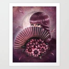 Eyes of Seduction Art Print