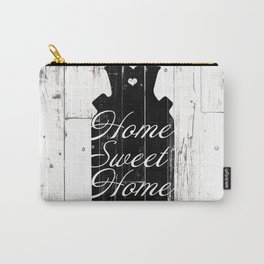 Home Sweet Home Rustic Jug Carry-All Pouch