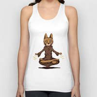 jedi Tank Tops featuring Jedi cat by Toms Tomsons