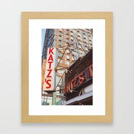 Katz Framed Art Print