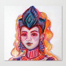 Freyja - Detail Canvas Print