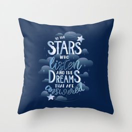 Night Court Book Quote ACOTAR Throw Pillow