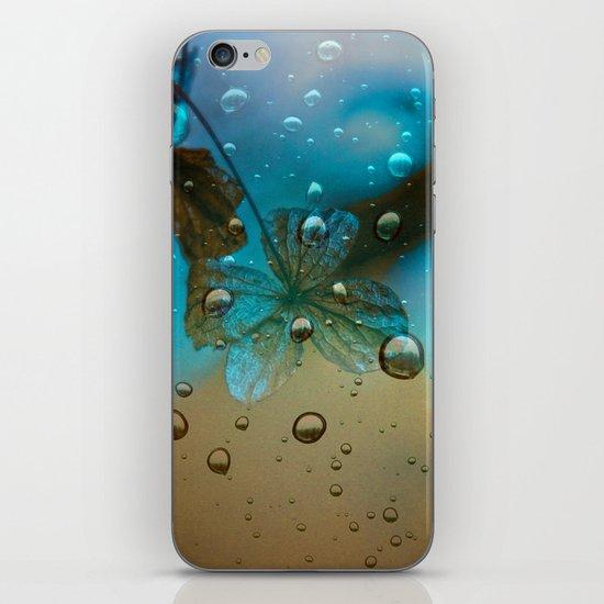 Rain Drops Keep Fallin iPhone & iPod Skin