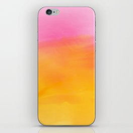 Abstract Watercolor Soft Background iPhone Skin