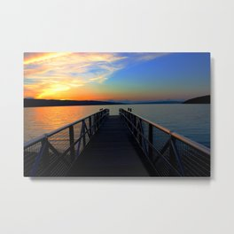 Walk off Metal Print