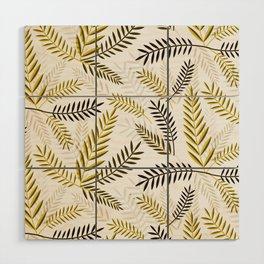 Wheat Pattern Wood Wall Art