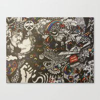 equality Canvas Prints featuring Equality by Amanda McCrory