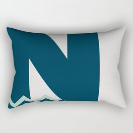 N. Rectangular Pillow