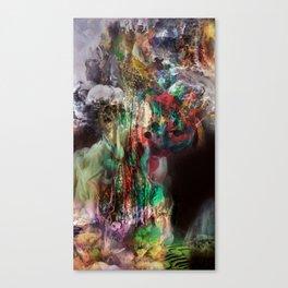 Descending to Underworld Paradise Canvas Print