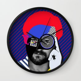 Solomun By Sebas Rivas Wall Clock