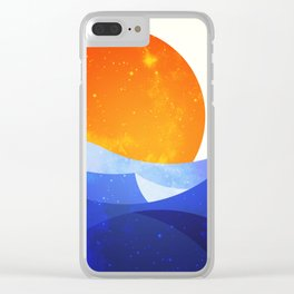 Sun in the Dunes Clear iPhone Case
