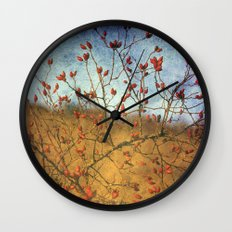 Rosehip Wall Clock
