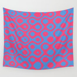 Brain Coral Red - Coral Reef Series 024 Wall Tapestry