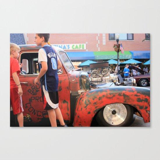 Kids in America Canvas Print